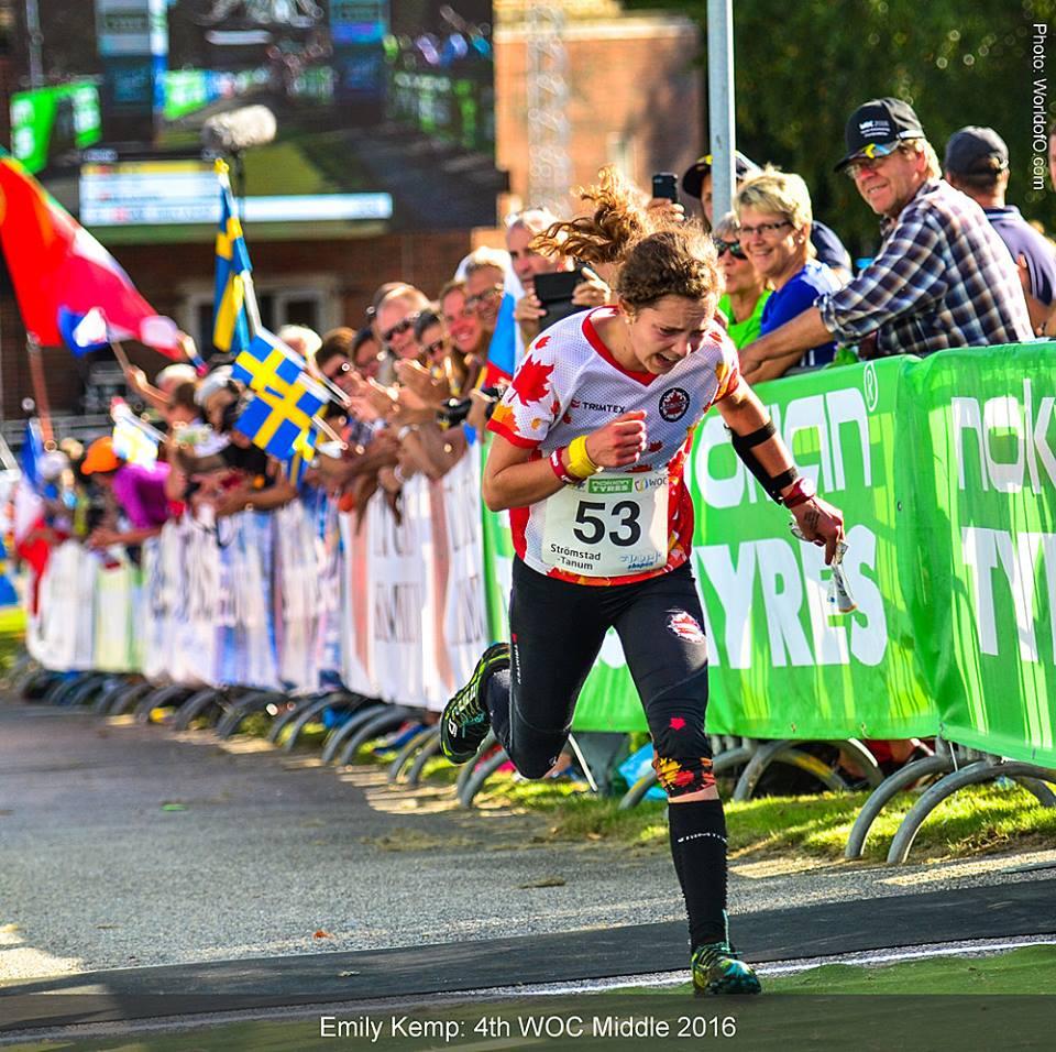 Emily Kemp finish
