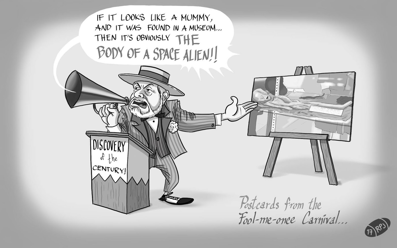 UFOs: Reframing the Roswell Slides Fiasco