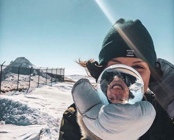 All smiles when the sun is out in Iqaluit. Regram from @hmhilchey