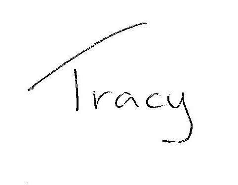 Tracy Wellsted signature