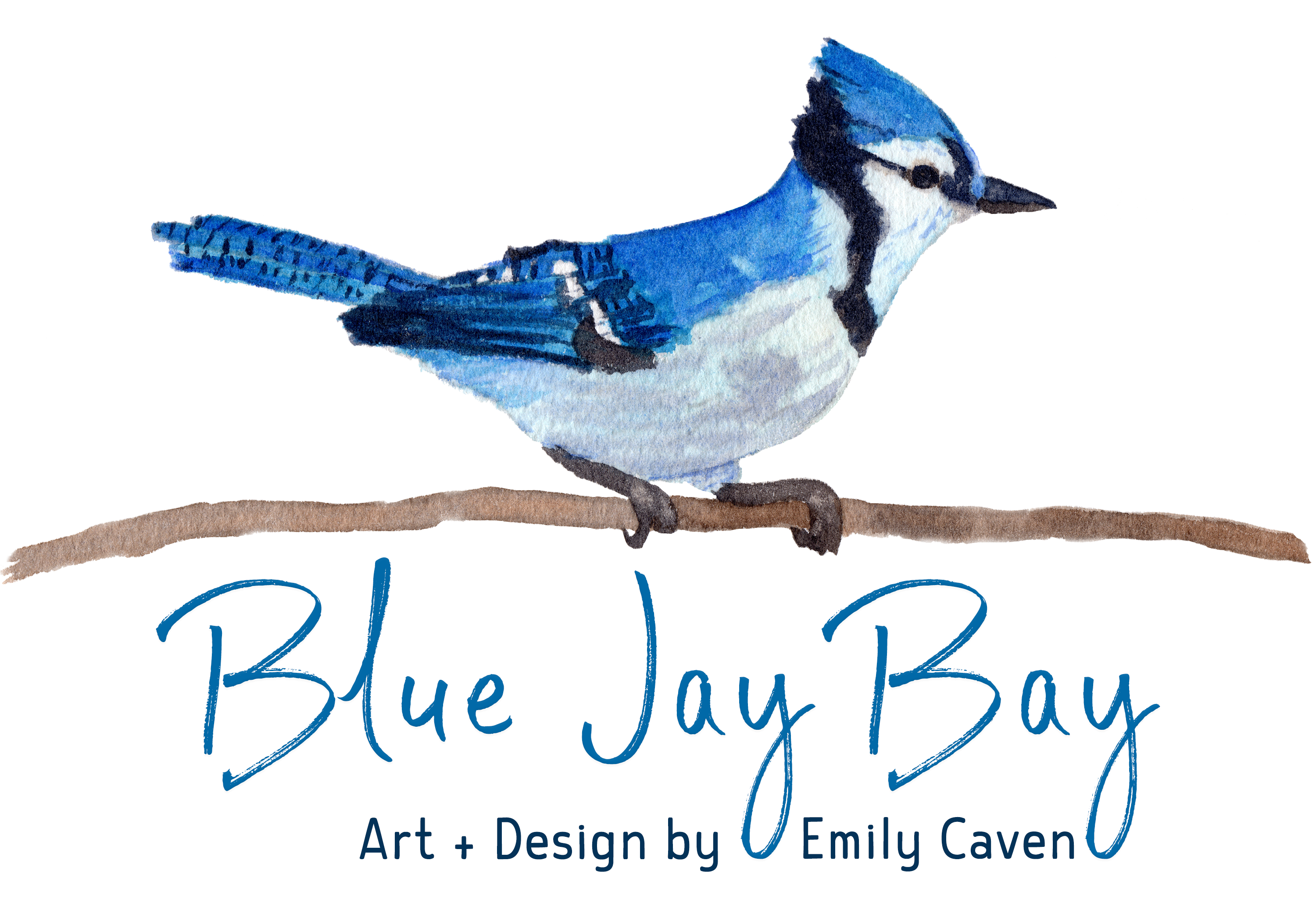 Blue Jay Bay ~ Art + Design by Emily Caven