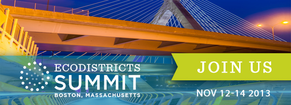 2013 EcoDistricts Summit