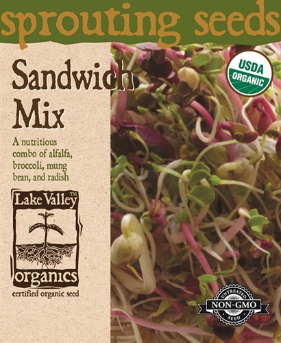 Lake Valley Sandwich Mix Sprouting Seeds