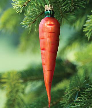 Carrot Ornament