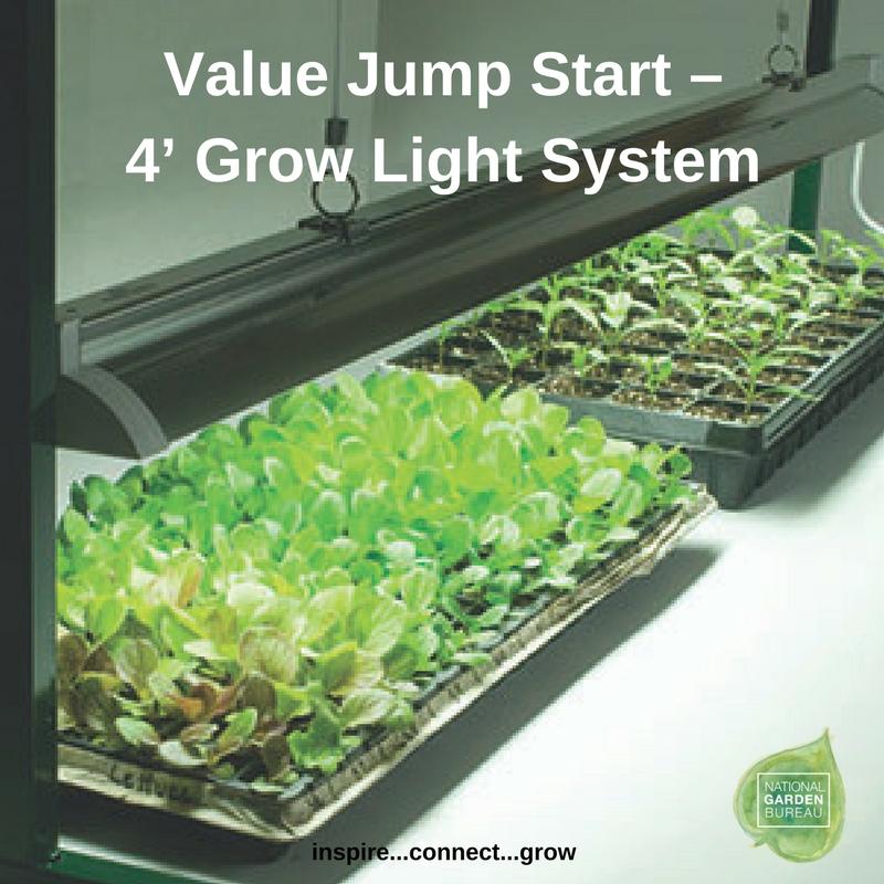 Value Jump Start – 4' Grow Light System