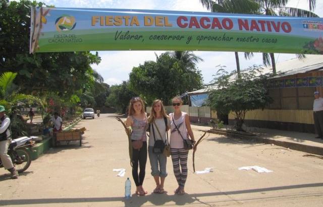 Feria de Cacao en San Buenaventura