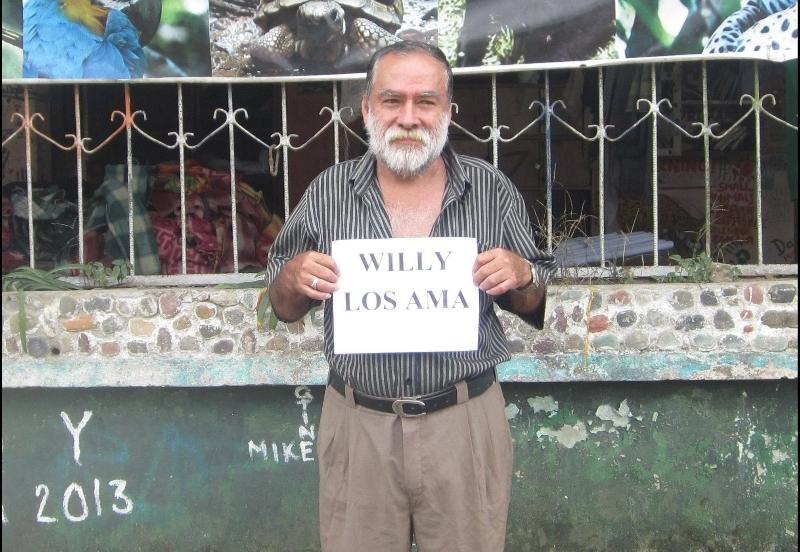 Don Willy dice gracias