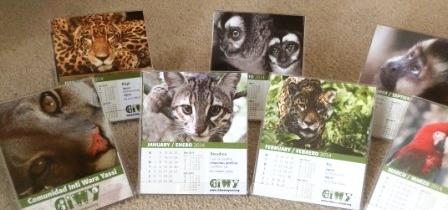 Calendarios CIWY 2014