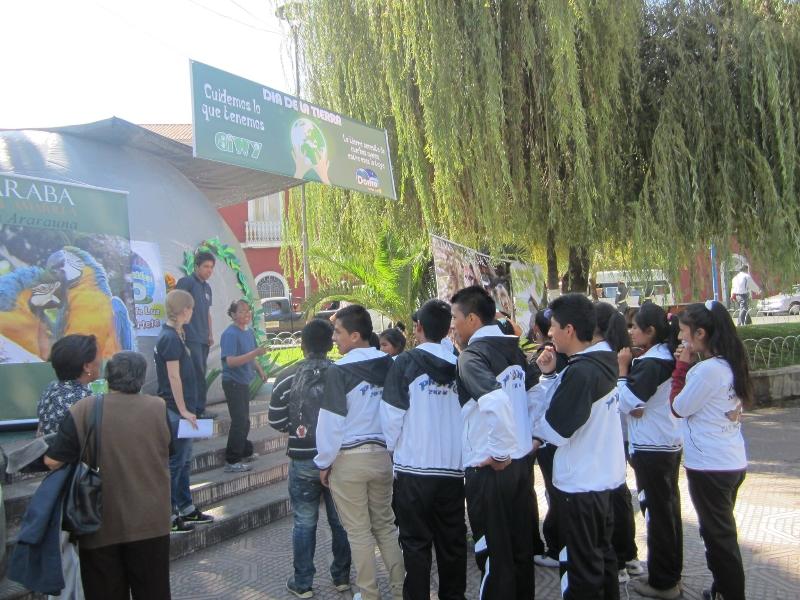 Festividades para el Día de la Tierra en Cochabamba