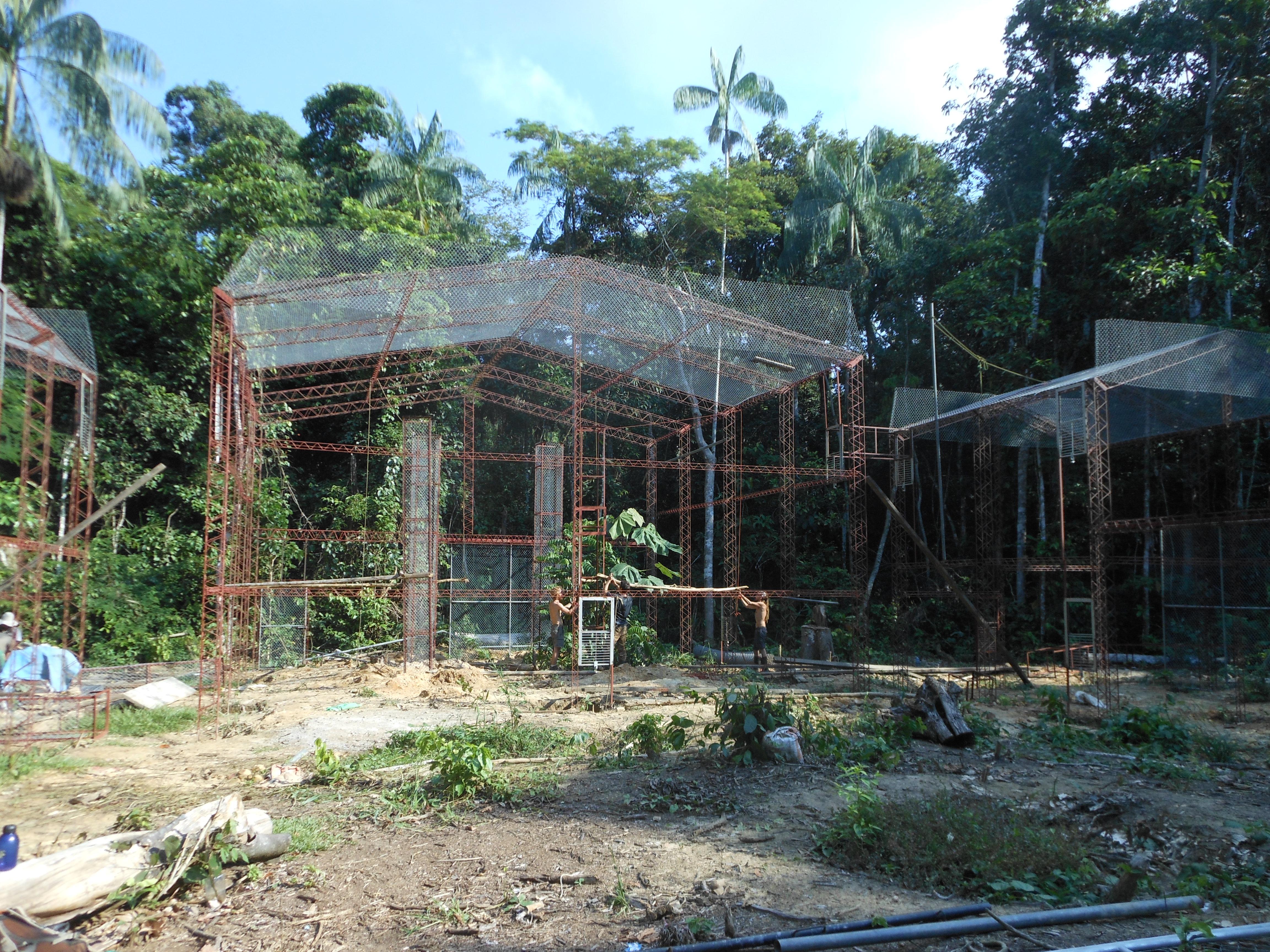 Prmate Enclosure