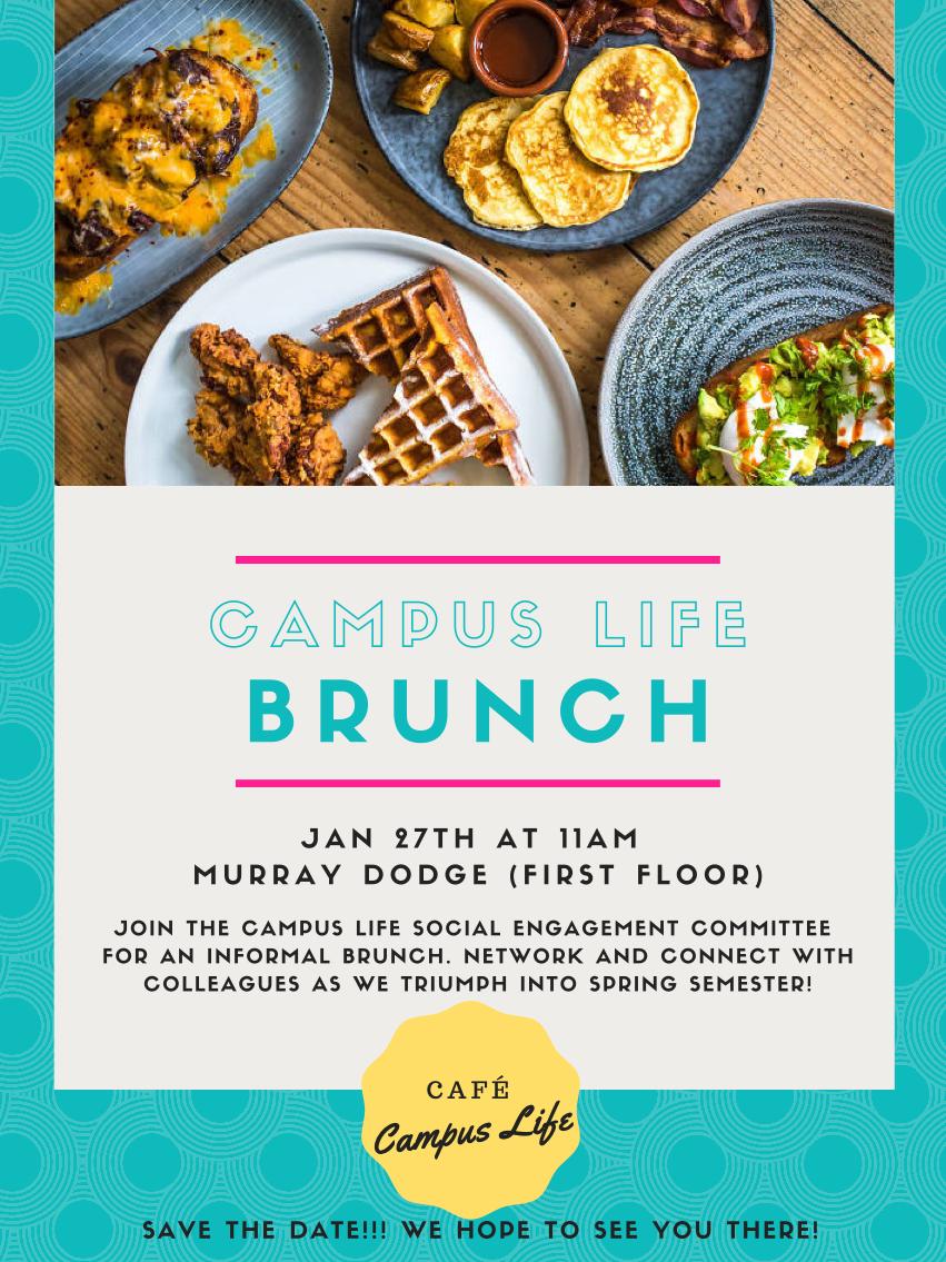 Campus Life Brunch Poster