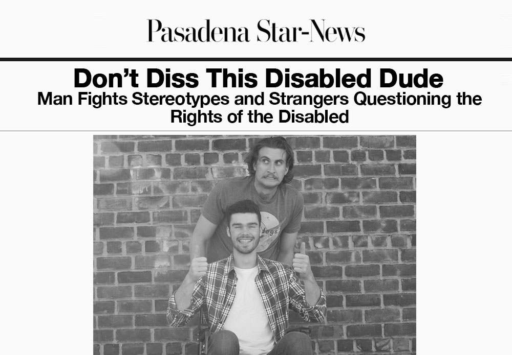 Jim became a champion for the disabled after fighting a guy that called him out for parking in a handicapped spot.