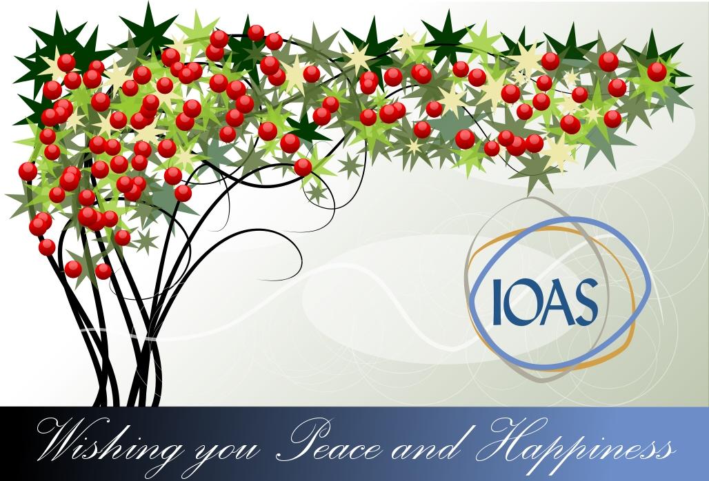 IOAS - Wishing you Peach and Happiness