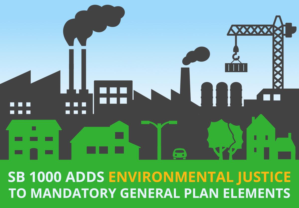 SB 1000 Adds Environmental Justice to Mandatory General Plan Elements