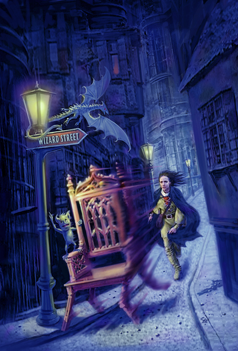 Cover Work by Brad Fraunfelter