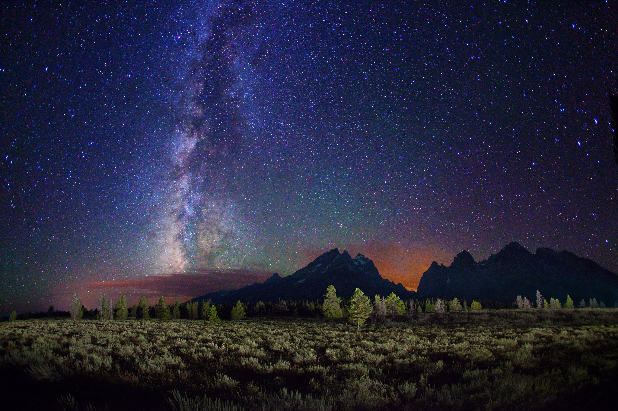 Capricorn 2016 New Moon Teton Milky Way Royce Bair