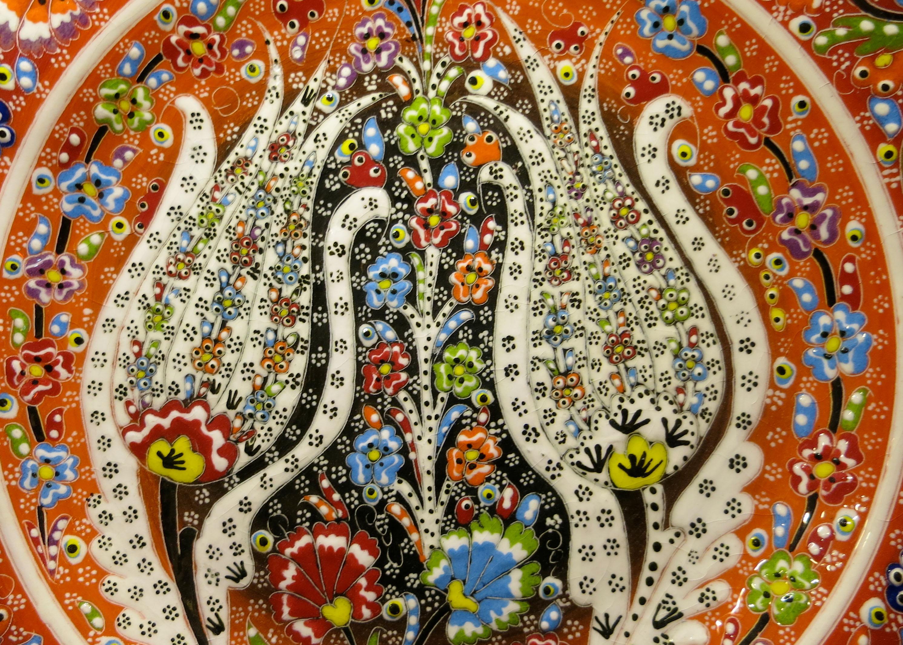 Virgo Turkish Art Plate Kusadasi
