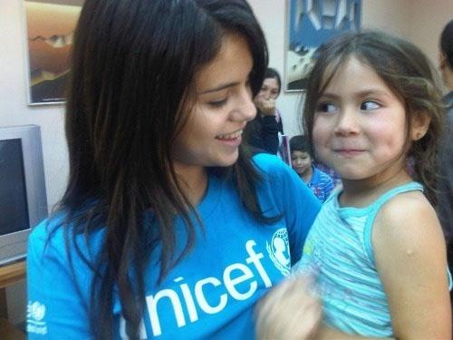 Cancer Selena Gomez champion philanthropist, youngest UNICEF ambassador ever!