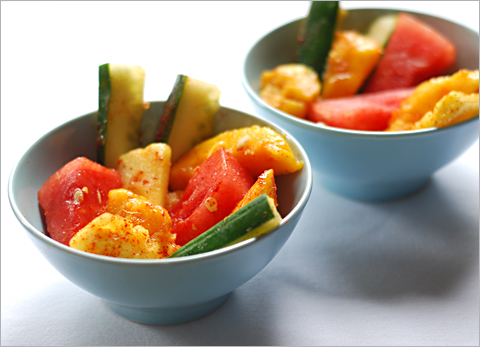 Recipe Mexican Fruit Salad with Chili Powder