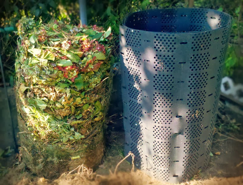 Geobin is easy to use composter!