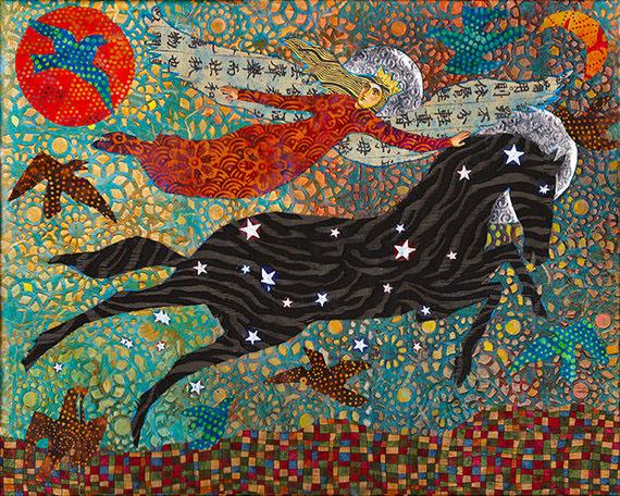 Sagittarius Night Star Horse Marie LoParco