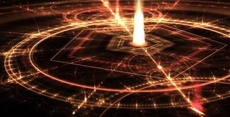 Jupiter Neptune Energy Grid Spiritual Compass Transmutation Circle