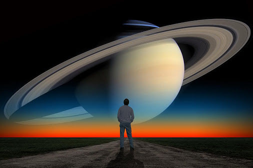 Saturn Rings on the Road to the Future!
