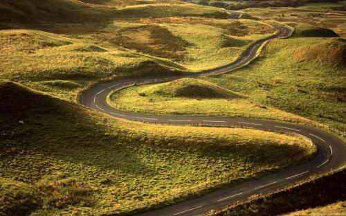 Mercury Retrograde winding road across the Golden land