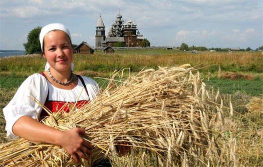 Virgo Girl Harvest Wheat Grain Castle