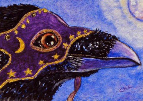 Scorpio Full Moon Raven Carrigan