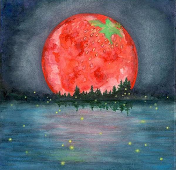 Full Strawberry Moon