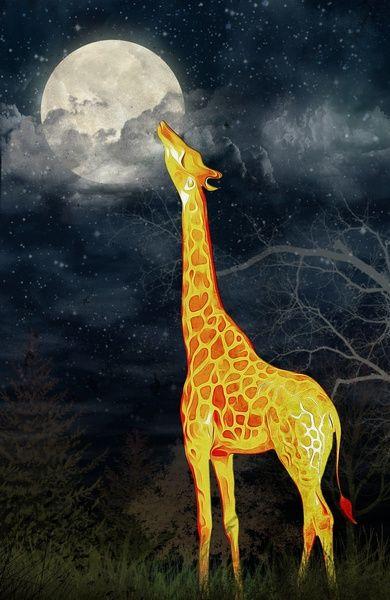 Sagittarius Full Moon Giraffe Taste Nirvana.K