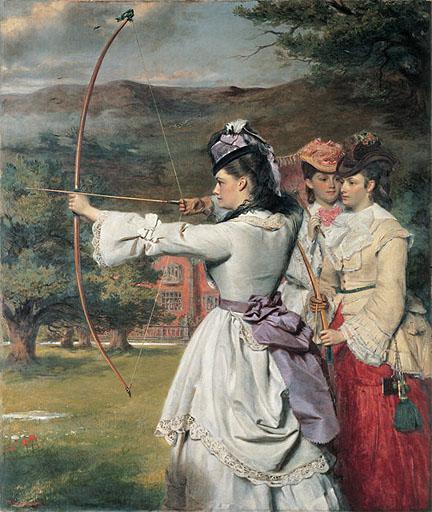 Sagittarius - Archer Woman by Frith 1872