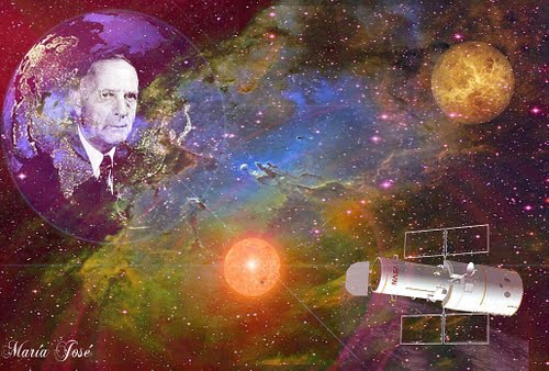 Scorpio, Astronomer Edwin Hubble -  Nov 20, 1889, Sun, Moon, Venus, Mercury in Scorpio!