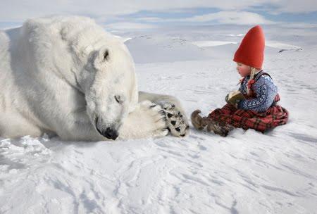 Winter Magic by Per Breiehagen - Love, Innocence, Beauty