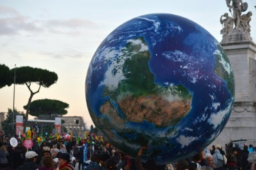 Earth at Paris Climate Summit