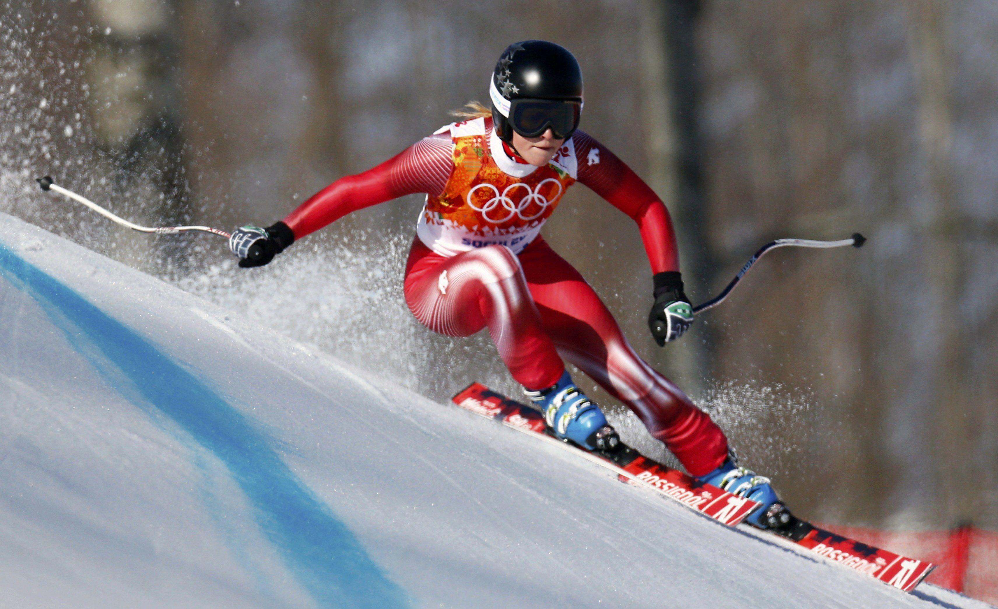 Capricorn Winter Sports! Switerland's Lara Gut skiing!