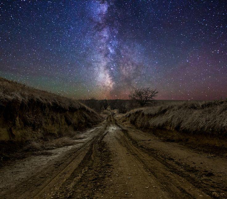 Sagittarius New Moon Milky Way Road