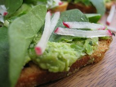 Pea & Mint Crostini My Husband Cooks! Tasty!