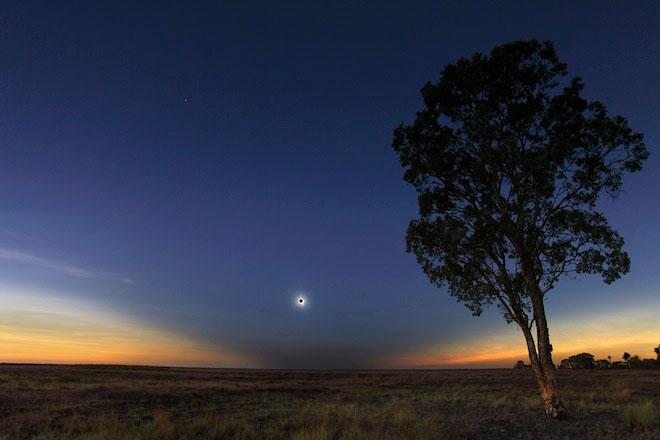Solar Eclipse Nov 2012 Geoff Sims Australia