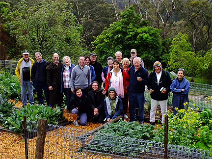 Blue Mountains Community Gardens, Katoomba, Australia