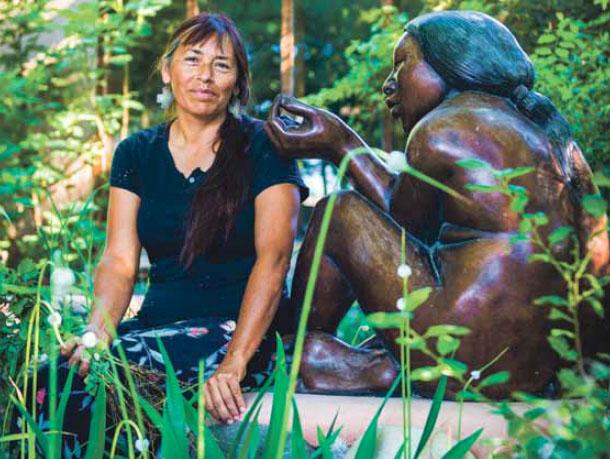 Seed Saving Permaculture Roxanne Swentzell Pueblo Artist