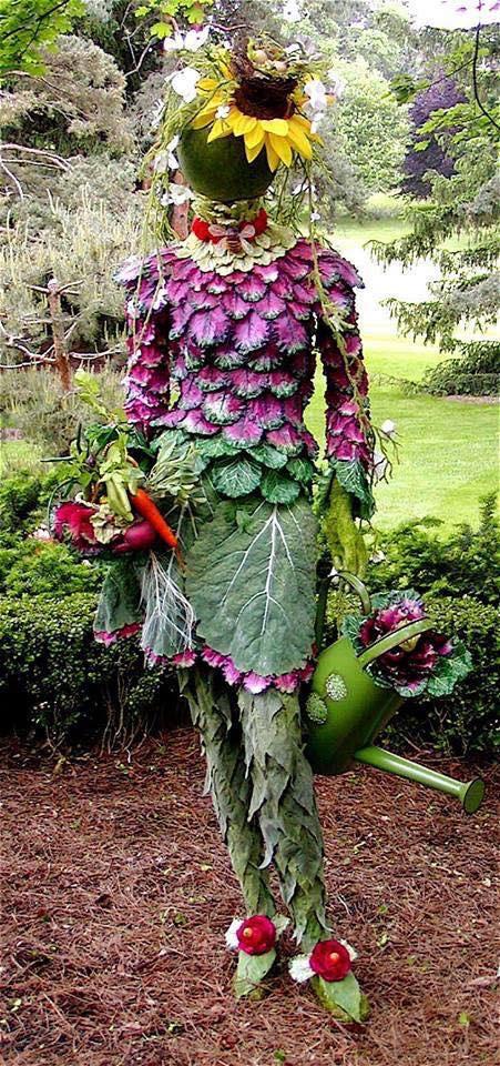 October Fashion Gardening! The Best Dressed Gardener!