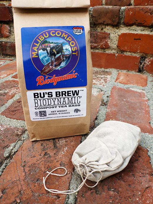 Compost Tea Bu's Brew Biodynamic Malibu Bag