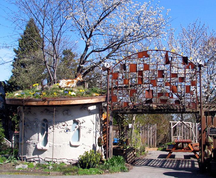 Garden Art Vancouver Compost Garden Entrance