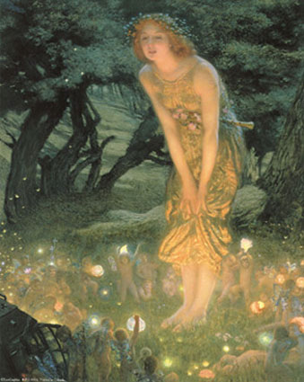 Happy Summer Solstice! Mid Summer Fairy!