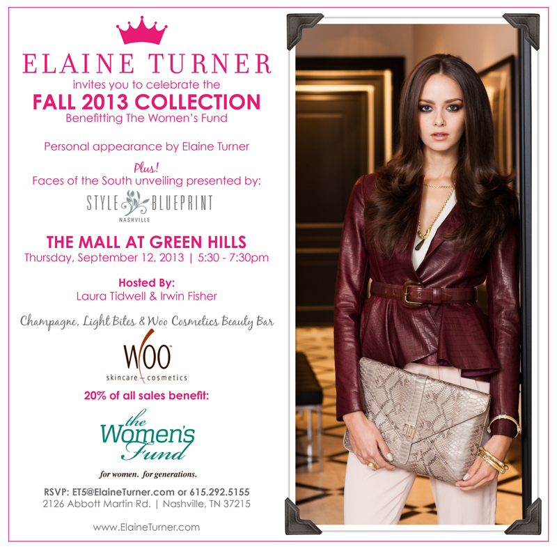 Fall2013Launch Nashville final Win $1000 at Elaine Turner! Heres Your Chance!