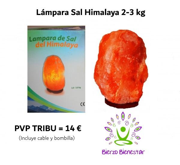 Lámpara Sal Himalaya 2 -3 kg = 14€