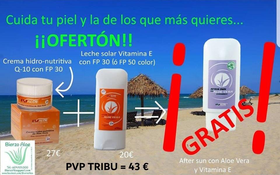 Crema HidroNutritiva Q10 FP30 + Leche Solar FP30 ó FP50 + Gratis After Sun = 43€