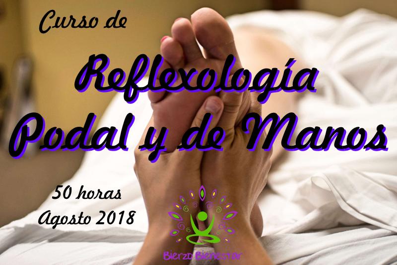 Curso de Reflexología Podal y de Manos